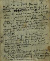 "Handwritten letter in form of a diary Michael Cusack entitled ""Diary of Lúghaidh Lamh Fada, Creevah, Co. Clare."