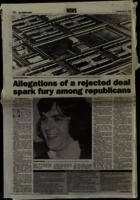 Press cutting from The Irish News with articles dealing with Richard O'Rawe's allegations