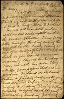 01 Letter from Thomas B. Cleary, Stafford Prison, to his wife Mary, Athenry