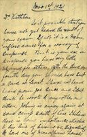 04 Letter from Joe Cleary, New York to his sister Kathleen