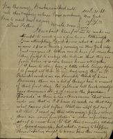 05 Letter from Joe Cleary, New York to his father Thomas B. Cleary, Athenry