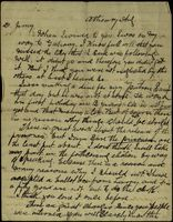09 Letter to Jimmy Cleary, from his father, Tom B. Cleary, while the former is interned