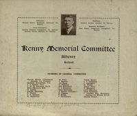 04 Pamphlet: Kenny Memoirial Committee