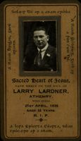 06 Memorial card for Larry Lardiner