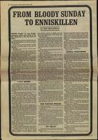 'From Bloody Sunday to Enniskillen', press cutting from the Derry Journal
