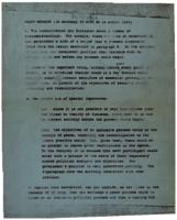 Draft and final version of a message from the British government to Sinn Féin