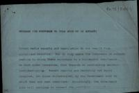 Fragment of telefax from [British government to Sinn Féin]
