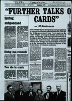 File of photocopied press cuttings