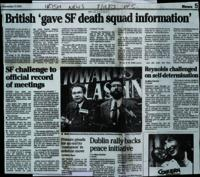 File of photocopied press-cuttings