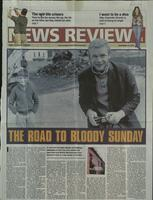 'The Road to Bloody Sunday', press cutting from The Sunday Times