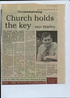 'Decommissioning: Church holds the key', press cutting from the Derry Journal