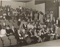 Audience at Opening Night of Lyric Theatre, 1968