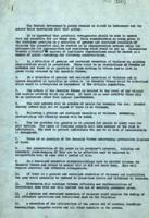 British government document discussing policy in the event of a ceasefire