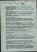 Copy statement from Harold Wilson, Prime Minister UK