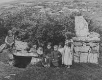 28 Killeany Holy well station and Young Natives, Aranmore