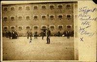 08 Photograph of Joe Cleary in Stafford prison yard