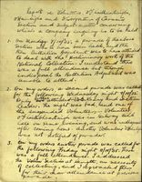 04 Handwritten report on the Carnmore section of the IRA