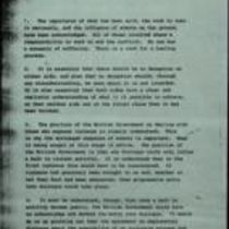 Copy document from the British Government to Sinn Féin