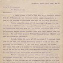 Third party letter from William C. Brown to Henry R. Worthington