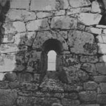 Cyclopean Masonry and Window of Saint MacDara's Oratory, Roundstone
