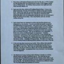 Copy of typescript statement entitled 'Bloody Sunday Enquiry' made by Brendan Duddy, c/o Denis Mullan Solicitors [Derry]