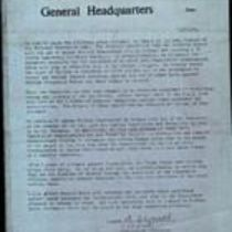 Copy typed press statement from the Irish National Liberation Army (INLA) Council
