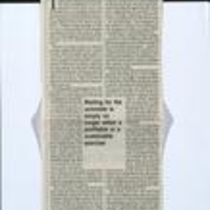 Press cutting from [ Sunday Business Post ]