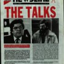 Copy of 'Newsline', the newsletter of the SDLP