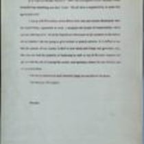 Dossier of three letters from Brendan to Martin McGuinness