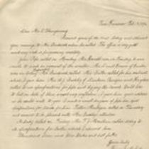 Letter to M. M. O'Shaughnessy from Harry Moffatt