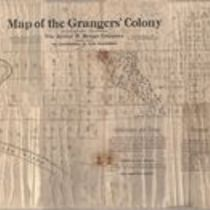 Map of the Grangers Colony, Butte County, California