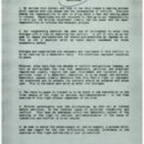 An 11-paragraph document from Sinn Féin for the British government