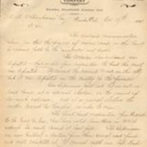 Small file relating to another company, the Humboldt and Trinity Toll Company, based in Eureka