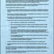 Printed circulated memorandum by the Independent Commission on Policing for Northern Ireland