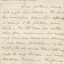 Letter to M. M. O'Shaughnessy from [H. O. Green]