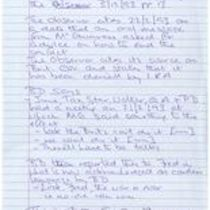 Notes following interview with Brendan Duddy