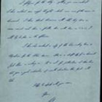 Holograph letter from [Pat ] to Brendan [Duddy]