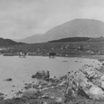 Maam Turc Mts from Derryclare lake