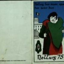 Printed Christmas card from Billy McKee to Duddy family