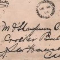 Letter to M. M. O'Shaughnessy  from [J. P. D. Gorman]
