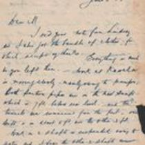 Letters to M. M. O'Shaughnessy from J. Storan Molony