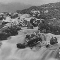 A Mountain Torrent from the Maam Turcs in the Vale of Inagh