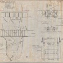 Design of Olokele Ditch steel flume, and design for a standard rock car