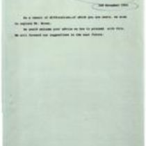 Draft message [from Sinn Féin to the British government]