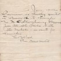 Correspondence relating to the quarantine of M. M. O'Shaughnessy and associates, following the outbreak of plague in Honolulu