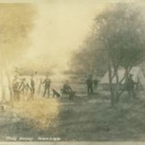 Photograph of group of men on site at Mill Valley