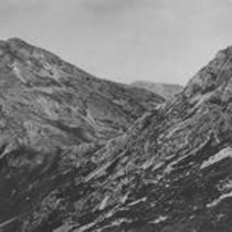 Among the 12 Bens, Col or Mountain pass between Bengower and Benbreen