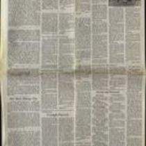 Press cutting from opinion and editorial pages of The Irish Times