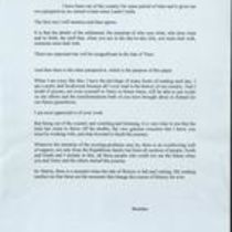 Letter from Brendan [Duddy] to Martin [McGuinness]