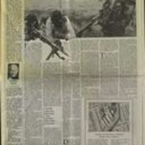 'Undercover Peace', press cutting from The Sunday Times